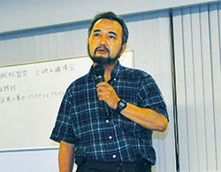 土井敏邦氏